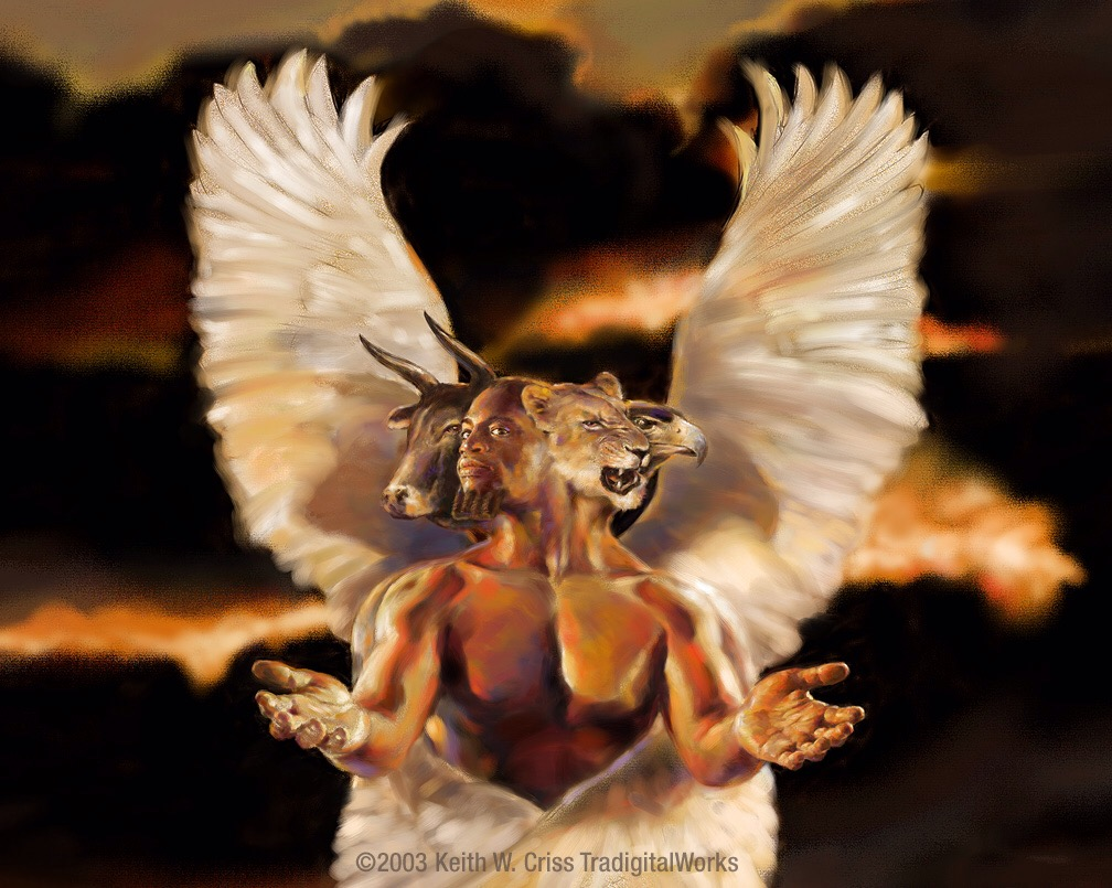 Image result for 6 winged angel of the book of revelation