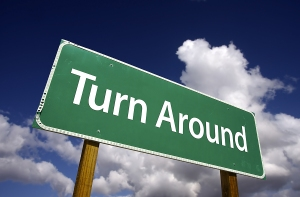 bigstock_Turn_Around_Road_Sign_4335625